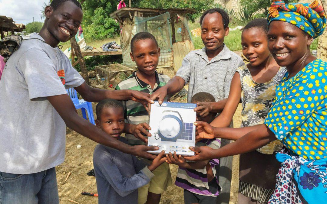 Solar Lantern til alle vores sponsor-familier