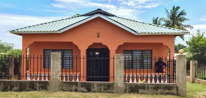 Support Mombasa's udlejningshus i Kazandani